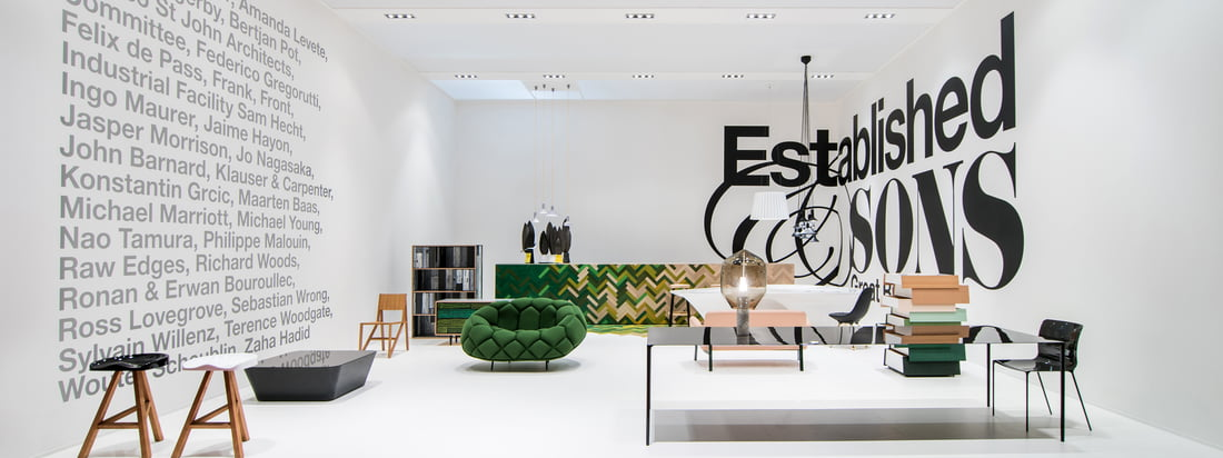 Established & Sons ist ein preisgekröntes, britisches Hersteller- und Designunternehmen, dass sich auf die Fertigung hochwertiger Möbel und Produkte spezialisiert hat. Innovation und Exklusivtät bestimmen das Sortiment von Established & Sons.