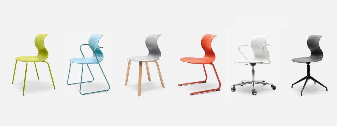 Die deutsche Firma Flötotto produziert Möbel. Besonders bekannt sind die Pro 6 Stühle, welche in verschiedenen Varianten hier im Shop erhältlich sind.