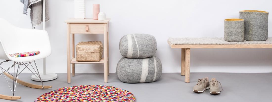 myfelt Teppiche aus Filz und in den verschiedensten Formen