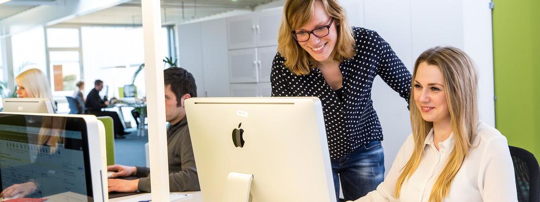 Jobs -Karriere-Stellenausschreibung Datenmanagement Banner