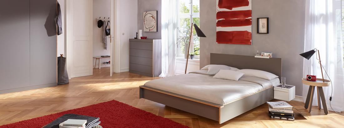 schlafzimmer einrichten 100 ideen connox shop. Black Bedroom Furniture Sets. Home Design Ideas