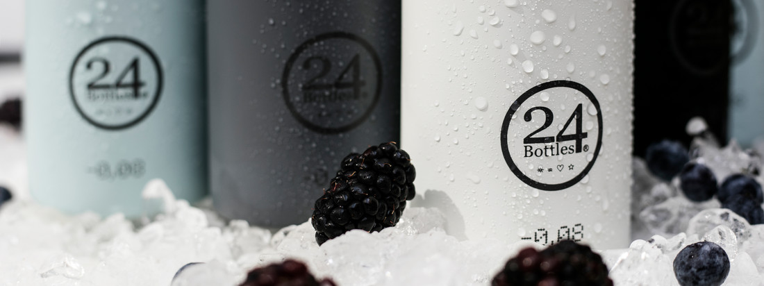 24Bottles ist ein Hersteller für Trinkflaschen, die in originellen Farben erhältlich sind. Die Flaschen des italienischen Herstellers sind ideal für unterwegs.