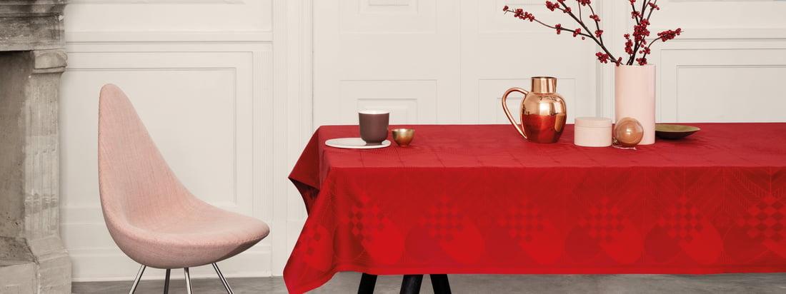 ConnoxPlus Angebote - Feierlich gedeckt: Tischtextilien - Georg Jensen Damask - Weihnachts-Tischdecke