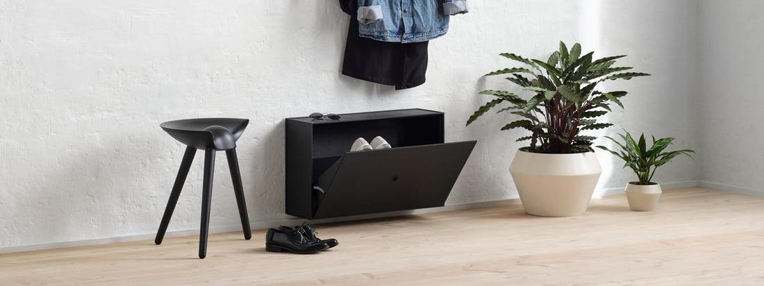 Umage - One More Look Spiegel - Ambiente - Flur - Wohnbereicht -  dunkel grau