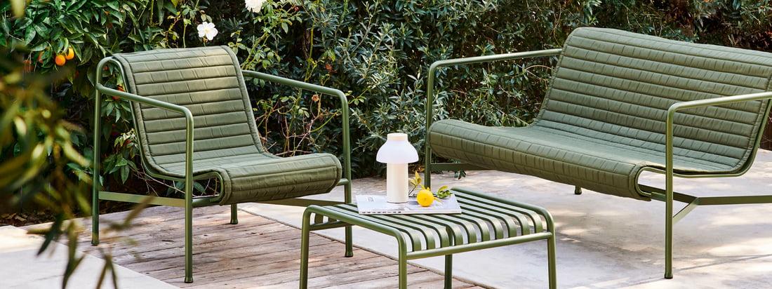 Hay - Palissade Lounge - Räume - Garten - Kollektion - Banner - 16zu6