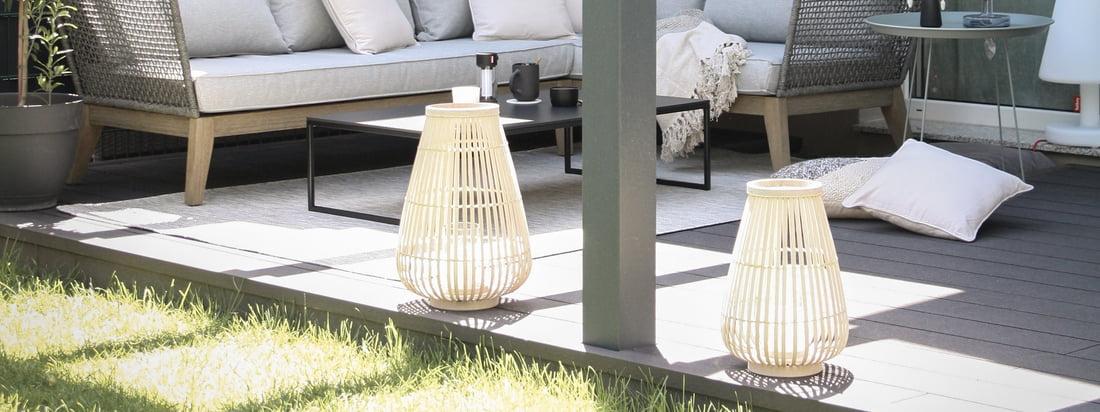 Outdoor-Ambiente - Connox Collection Windlichter