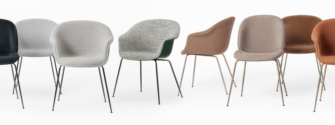 Das dänisch-italienische Duo Stine Gam und Enrico Fratesi nahmen sich die geschwungen Formen von Fledermaus-Flügeln als Vorlage und gestalteten den zeitlosen, stilvollen Bat Chair.