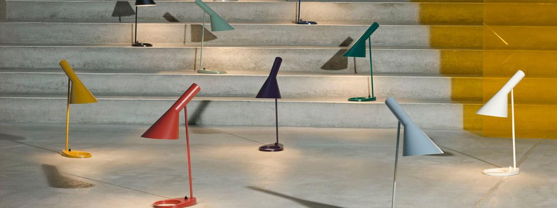 Louis Poulsen - Arne Jacobsen Leuchtenserie Banner 3840x1440