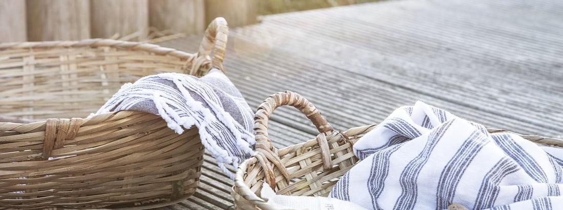 Die Tradition Aufbewahrungskörbe von Meraki sind vielseitige Helfer im Alltag, die garantiert in jedem Einrichtungsstil einen passenden Platz finden!