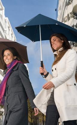 Accessoires für den Alltag: Regenschirme für die nassen Tage, Eiskratzer für den Winter sowie Aschenbecher für die Party!