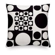 Vitra - Classic Kissen Maharam: Geometri black/white