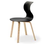 Flötotto - Pro 6 Stuhl, Vierbeinholzgestell