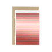Karte - Stripetown Pop Grußkarte