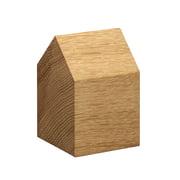 e15 - AC10 Haus Briefbeschwerer Holz
