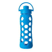 Lifefactory - Glasflasche 0.6 Liter mit Flip Top Cap