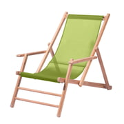 Jan Kurtz - Maxx Deckchair Teakholz Kunststoffgewebe