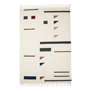ferm Living - Kelim Rug Colour Triangles