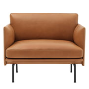 Muuto - Outline Sessel Leder