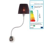 Stiletto - Glühwürmchen DeLuxe mit Textilschirm (LED)