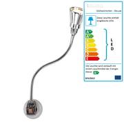 Stiletto - Glühwürmchen DeLuxe mit Alu-Kegelreflektor Glanz (LED)
