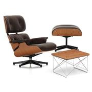 Vitra - Lounge Chair & Ottoman - Kirschbaum
