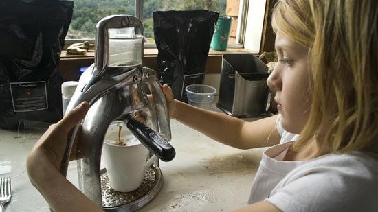 Kinderleichte Bedienung der Espressomaschine von ROK