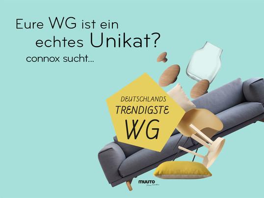 Deutschlands trendigste wg connox for Wohnideen studentenzimmer