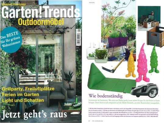 Wohn!Design Garten!Trends 2016 -  Inhalt