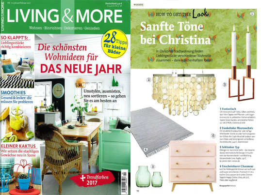 Living & More Januar/ Februar 2017 - Inhalt