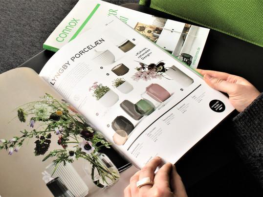 Der Connox Katalog für Frühling und Sommer 2017 zeigt alle neuen Produkte der einzelnen Hersteller. Jede Seite ist übersichtlich gestaltet und bietet viele Inspirationen.