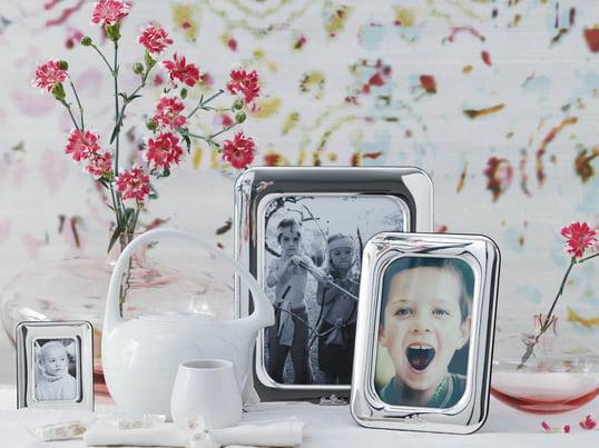 Der Finesse Bilderrahmen von Rosenthal. Die Bilderrahmen sind in verschiedenen Größen erhältlich, damit sie für möglichst viele Fotoformate passend sind.