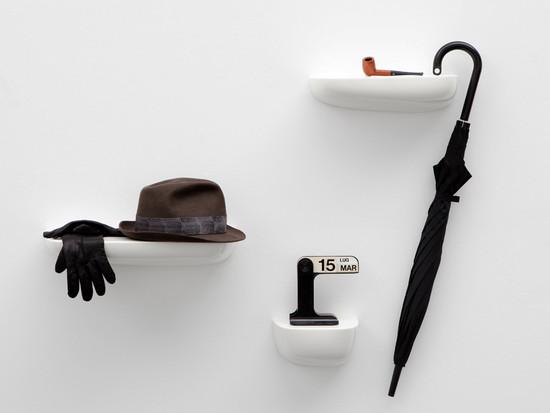 wandablage und kleines regal kaufen connox. Black Bedroom Furniture Sets. Home Design Ideas