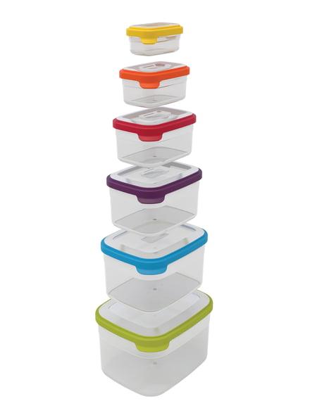 Joseph Joseph Nest-Storage Aufbewahrungsbox mit Deckel aus Kunststoff
