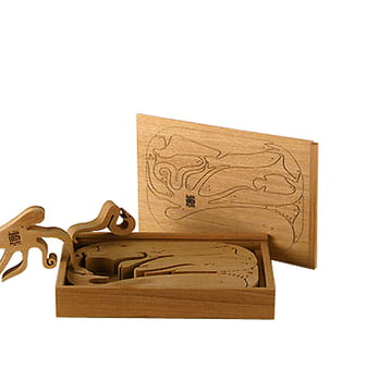 Danese Sedici Pesci Holzpuzzle