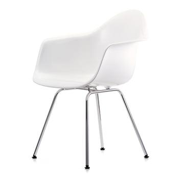 Vitra - Eames Plastic Armchair DAX in Weiß