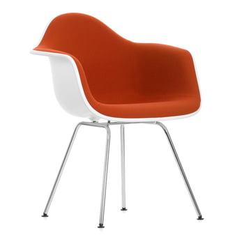 Eames Plastic Armchair DAX gepolstert von Vitra