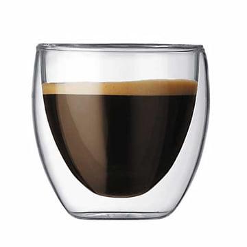 Bodum Pavina, doppelwandiges Trinkglas 0.8 dl