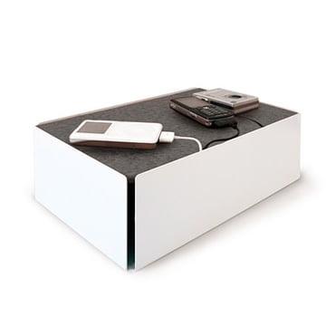 Charge-Box - weiß / grau