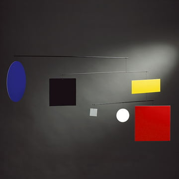 Flensted Mobiles - Guggenheim Mobile Circle Square