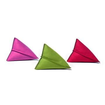 Hey Sign - Lily Filzkissen, Pink, Grün und Rot