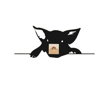 Domestic - Zoo Cochon Wandsticker