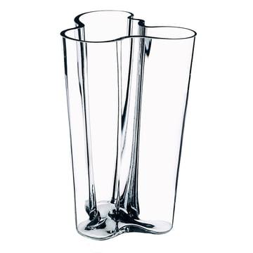 Aalto Vase Finlandia 201 mm von Iittala in klar