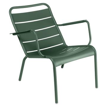 Luxembourg tiefer Sessel von Fermob in Zederngrün