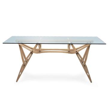 Zanotta - Reale Tisch - Seitenansicht