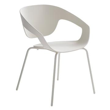 Casamania - Vad Stuhl mit Vierbeingestell in Weiß