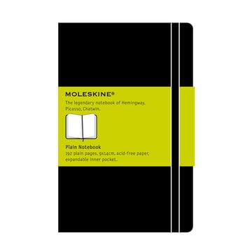 Moleskine - Blanko Notizbuch