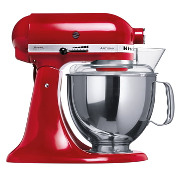 Artisan Küchenmaschine 4.8 l von KitchenAid in Empire Rot