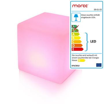 Moree LED Cube, pink