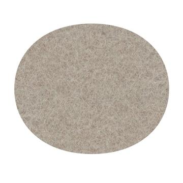 Hey Sign - Filz-Auflage Serie 7 Stuhl, stone 5mm