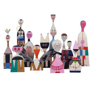 Vitra - Wooden Dolls - Gruppe alle